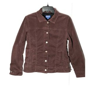 Pendleton corduroy jacket / blazer brown size M